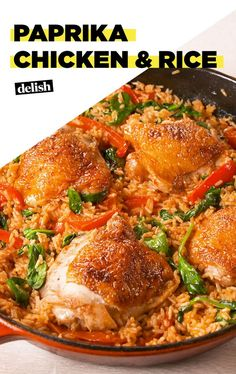 This Paprika Chicken & Rice Will Become A Regular In Your Dinner RoutineDelish