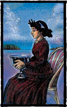 queen of cups - Prairie Tarot