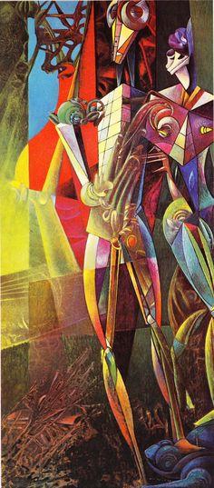 Max Ernst - Chemical Nuptials, 1947- 48