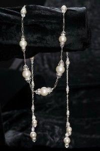 """Erica Koesler Wedding Accessories: 29"""" lariat"""