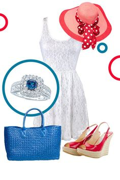 18 Best Red White Blue Images On Pinterest Kay Jewelers Red