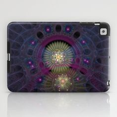 NeonSeries052 iPad Case by fracts - fractal art - $60.00