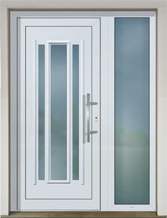 Plastové dverné výplne GAVA plast sú vyrábané systémom lepenia tvarovaných PVC dosiek a tepelnoizolačných materiálov. Používame špeciálne vyvíjaný a testovaný PVC materiál určený výhradne pre výrobu dverných výplní od popredného svetového producenta plastov. #vchodovedvere #dvere #gavaplast #dvernavypln #bieledvere #whitedoor #entrancedoor Exterior Doors, Entry Doors, White Doors, Bathroom Medicine Cabinet, Plast, Front Doors, Outdoor Gates, Exterior Front Doors, Entrance Doors