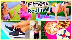 Fitness Routine 2015: Essentials, DIY Healthy Snacks, Workouts More! by AlishaMarie