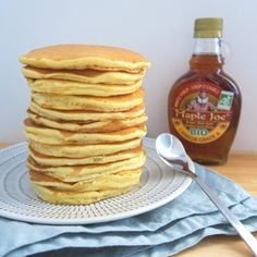Pancakes : la recette parfaite Parfait, Blog Food, Breakfast, Biscuits, Chef Kitchen, Almond, Morning Coffee, Cookies, Cookie Recipes