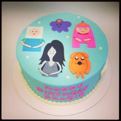 Adventure Time birthday cake - Sweets by Millie