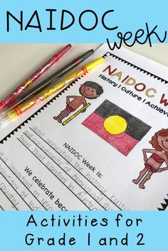 This pack of NAIDOC Week activities for kids will keep them engaged while learning. Teaching resources and lesson ideas are meaningful and suitable for students in Year 1 Teaching Activities, Educational Activities, Teaching Kids, Teaching Resources, Activities For Kids, Fun Learning, Aboriginal Education, Aboriginal Culture, Primary Education