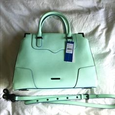 Rebecca Minkoff Armorous Satchel Mint Like new condition, no scratches, no marks, tears, etc... Comes from a smoke free and pet free home. Bought brand new last year in 2015, used for about a month during what was left of summer and has been kept in dust bag (included). Authentic Rebecca Minkoff, mint with black hardware. Cross body strap included. Please make an offer! Thank you! Xo Rebecca Minkoff Bags Satchels