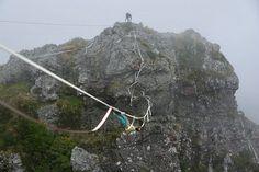 A leashfall is not a crime! Slackliner: Sebastian Klimke Pic: Florian Hild