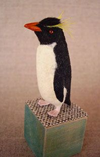 penguin with yellow ruff