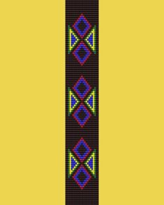 Diamonds Bead Pattern Loom