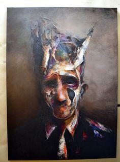 MF040 / acrylic on canvas / 92 x 65 cm
