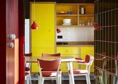 Casinha colorida: Home Tour: uma casa fictícia