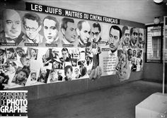 Anti-Jewish Exhibit: The Jews in the French Cinema, Paris, September, 1941