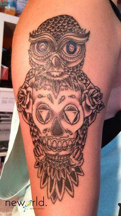 Tattoos Gallery, Skull, Skulls, Sugar Skull