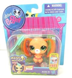 Littlest Pet Shop 3359 Bunny Rabbit Magic Motion New in Package #Hasbro #LPS