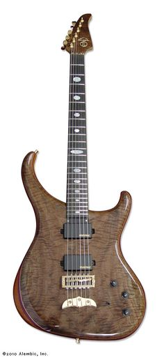 Alembic Guitars - Orion Flame Walnut