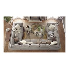 the perfect comfort for family gatherings. Umm... Family gathering???! Who are we kidding? I, alone, could use up that whole couch:D