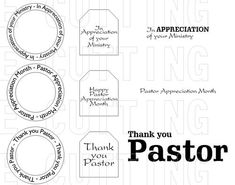 pastor appreciation letter template | Pastors Appreciation ...