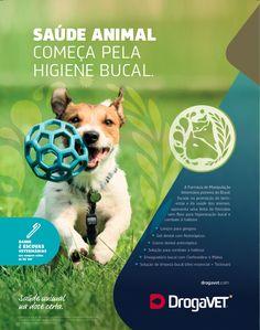 Redatora Patricia Schmidt - Commcepta Brand Design. Anúncio revista #Drogavet #saúdeanimal