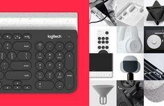 Logitech K780 on Behance