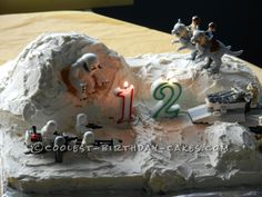 Lego Star Wars Hoth Planet Cake... Coolest Birthday Cake Ideas