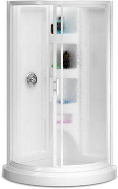 Tiny shower ideas on pinterest tiny bathrooms small for Small bathroom kits
