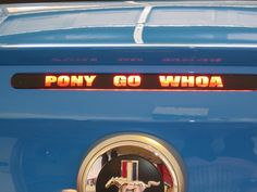 What Your Car Decorations Say About You - Any sticker over the third brake light