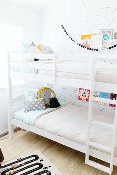 Bunk beds. Cute kids room, C or J or P?