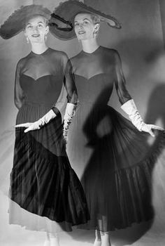 Janine niepce  Rue de Rivoli Paris circa 1950 Janine Niepce  Janine ...