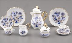 Miniature Porcelain Tea Sets