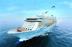 미국 크루즈 선사 로얄캐리비안의 크루즈 여객선 퀀텀오브더씨즈호/로얄캐리비안 홈페이지