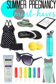 Lulu & Sweet Pea: Summer pregnancy must-haves: how to beat the heat when you're huge, hot, & miserable.