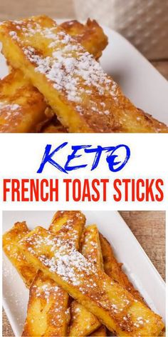 {Keto French Toast} Tasty & easy low carb keto french toast sticks recipe w/ this 90 second microwave bread recipe.Quick & yummy french toast sticks for simple keto breakfast, snack or keto dinner. Ketogenic Diet Meal Plan, Ketogenic Diet For Beginners, Keto Meal Plan, Paleo Diet, Breakfast Snacks, Low Carb Breakfast, Breakfast Recipes, Ketogenic Breakfast, Breakfast Casserole