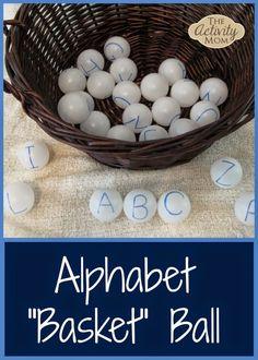 Alphabet Basketball - fun ABC game!