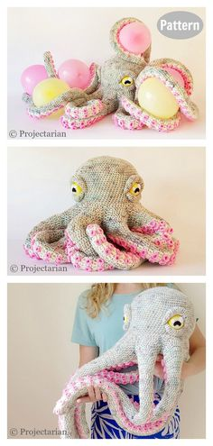 Giant Octopus Crochet Pattern