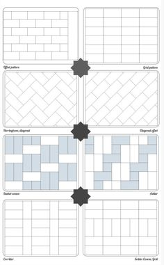 Sometimes you need a reminder on how many patterns there are to work with your…