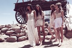 Wildfox Lookbook: Wild Wild West