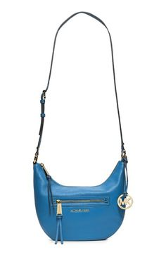 MICHAEL Michael Kors 'Small Rhea' Zip Detail Shoulder Bag available at #Nordstrom