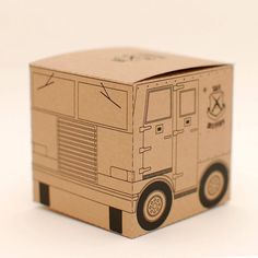 Armoured Delivery printable DIY gift box fun packaging