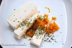PULPA DE CURCAN CU TARHON SI SOS DE PORTOCALE | Diva in bucatarie Feta, Dairy, Cheese