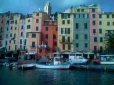 Cinque Terre - translates to Five towns, is located in the N.W. region of Italy - it is a UNESCO site