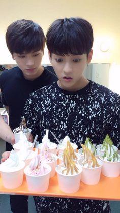 Sungjae and Minhyuk ❤