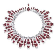 Cartier Deco style necklace