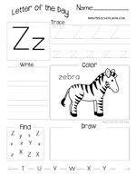 Letter of the Day Worksheet | Kindergarten Stuff | Pinterest ...