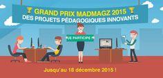 Pré-inscription = accès gratuit à l'Offre Education Madmagz & peut être Le Grand Prix @madmagz 2015 @MadmagzEdu