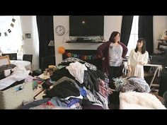 Marie Kondo #1 in New York Gina's house Tidy Up with KonMari - YouTube
