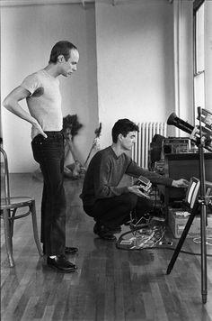 Eno and David Byrne