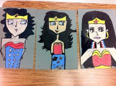 Pop Art/cubism Mike Esparza Superheroes-Drip, Drip, Splatter Splash, Art Education Blog 3rd Grade Art Lesson, Third Grade Art, Fourth Grade, Superhero Art Projects, School Art Projects, Superhero Classroom Theme, Art Classroom, Picasso Art, Art Lesson Plans