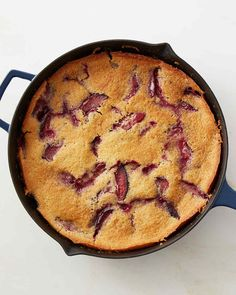When it comes to baking, this one-bowl skillet cake is as easy as it gets. Martha made this recipe on Martha Bakes episode 609.